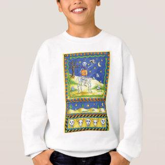 Ein Cowboy-Skelett Sweatshirt