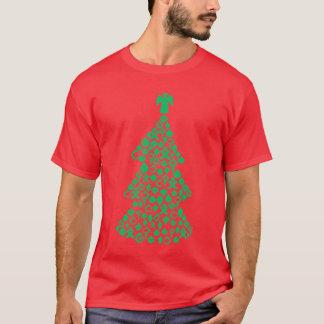 Ein dekoratives Weihnachten T-Shirt