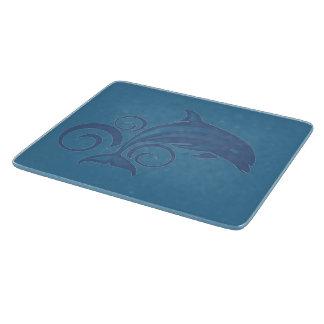 Ein Delphin Schneidebrett