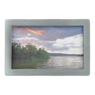 Ein Der Ohio-Tal-Sonnenaufgang Rechteckige Gürtelschnalle