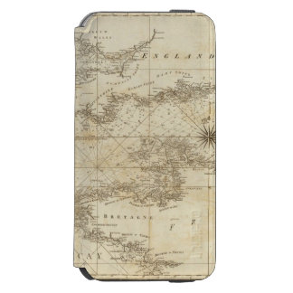 Ein Diagramm des britischen Kanals Incipio Watson™ iPhone 6 Geldbörsen Hülle