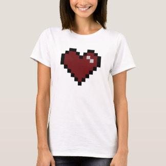 Ein Digital-Herz T-Shirt