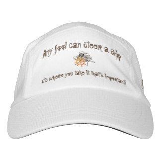 Ein Dummkopf kann ein Schiff, es steuern ist, wo Headsweats Kappe