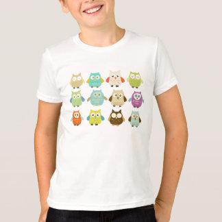 Ein Dutzend Eulen-T-Shirt T-Shirt
