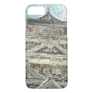 Ein eines netten Hiroshima-Schloss iPhone Falles iPhone 8/7 Hülle