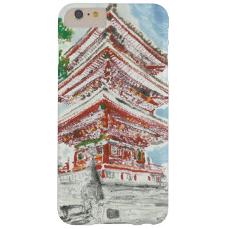 Ein eines netten Shintennouji Tempel iPhone Falles Barely There iPhone 6 Plus Hülle