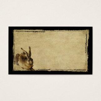 Ein einziger Hase Prim Geschäfts-Karten Visitenkarte