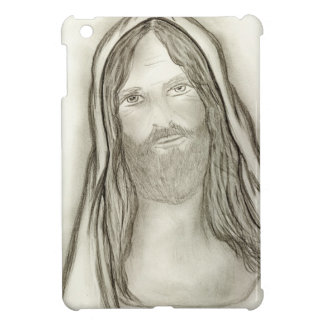 Ein ernster Jesus iPad Mini Hülle