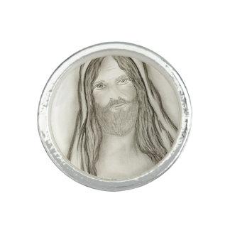 Ein ernster Jesus Ring