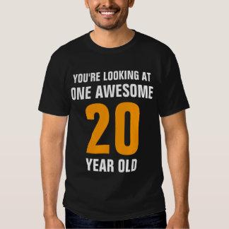 Ein fantastisches 20 Jähriges T-Shirts