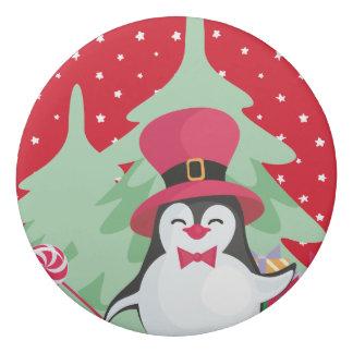 Ein festlicher Pinguin - 1 Radiergummi
