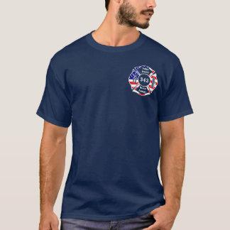 Ein Feuerwehrmann 9/11 vergessen nie 343 T-Shirt