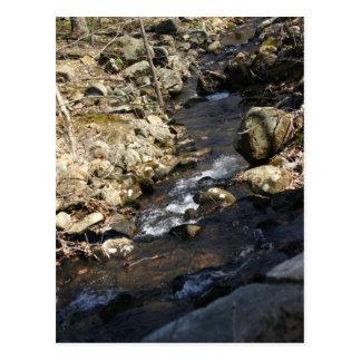 Ein Fluss-Fließen Postkarte