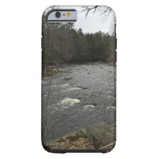 Ein Fluss lässt durch ihn Telefon-Kasten laufen Tough iPhone 6 Hülle