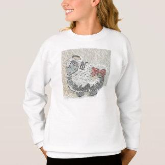 """Ein friedliches Wooly Schaf genannt """"LuLu-"""" Sweatshirt"""