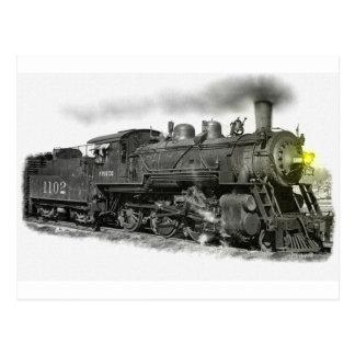 Ein Frisco Dampf-Zug Postkarte
