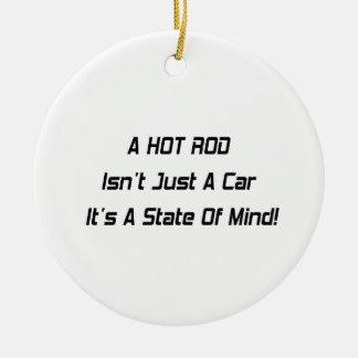 Ein frisiertes Auto ist nicht gerade ein sein Auto Keramik Ornament