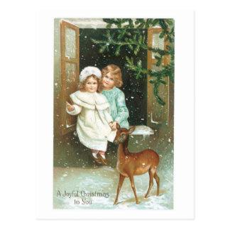 Ein frohes Weihnachten zu Ihnen Postkarte