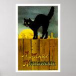 Ein fröhliches Halloween Plakatdruck