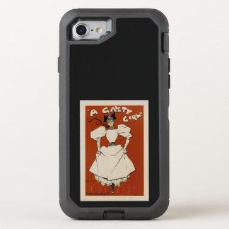 Ein Fröhlichkeits-Mädchen OtterBox Defender iPhone 8/7 Hülle