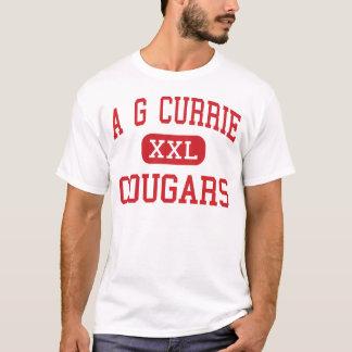 Ein g Currie - Pumas - Mitte - Tustin Kalifornien T-Shirt
