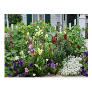 Ein Garten wächst Postkarte