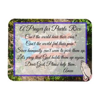 Ein Gebet für Puerto- Ricomagneten Magnet
