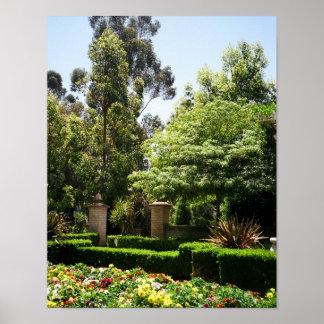 Ein geheimer Garten Poster