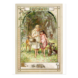 Ein geistiger Platz - Märchen - Schneewittchen Postkarten