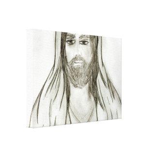 Ein gekleideter Jesus Leinwanddruck