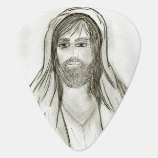 Ein gekleideter Jesus Plektron