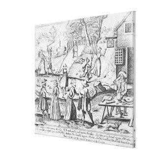 Ein Geschenk des neuen Jahres für Spitzmäuse Gespannte Galerie Drucke