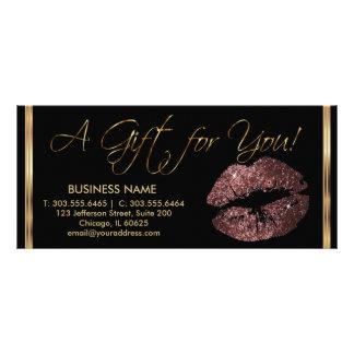 Ein Geschenk-Zertifikat-dunkles Individuelle Werbe Karte