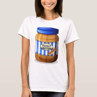Ein Glas Erdnussbutter T-Shirt