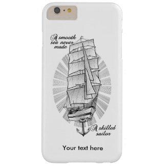 Ein glattes Meer machte nie einen erfahrenen Barely There iPhone 6 Plus Hülle