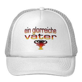 Ein Glorreiche Vater Deutschland Flaggen-Farben Kult Cap