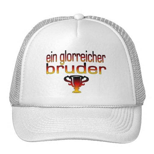 Ein Glorreicher Bruder Deutschland Flaggen-Farben Retrokultkappe