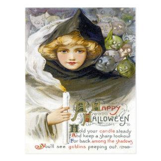 Ein glückliches Hallowe'en Postkarten