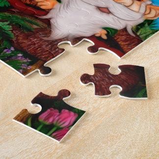 Ein Gnome für meine Garten-Fantasie-Kunst Puzzle