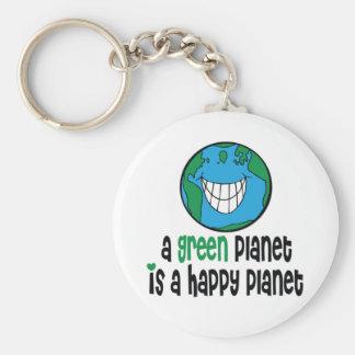 Ein grüner Planet ist ein glücklicher Planet Schlüsselbänder