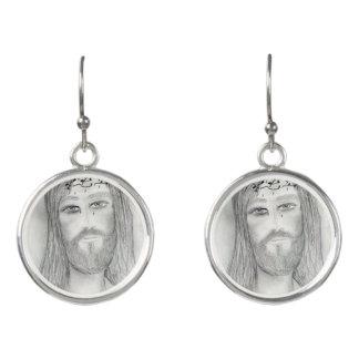 Ein guter Jesus Ohrringe