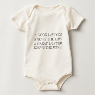 Ein guter Rechtsanwalt Baby Strampler