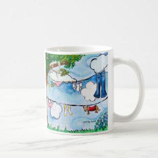 Ein guter trocknender Tag Kaffeetasse