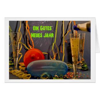 Ein gutes Neues Jahr Grußkarten