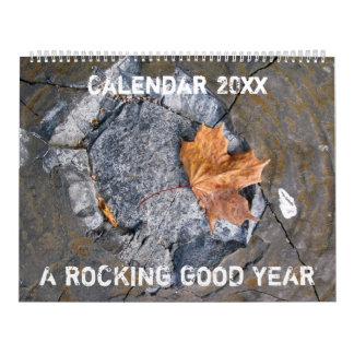 Ein gutes Schwingjahr 20XX Abreißkalender