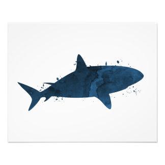 Ein Haifisch Fotodruck