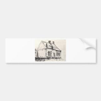 Ein Haus Magros durch Vincent van Gogh Autoaufkleber