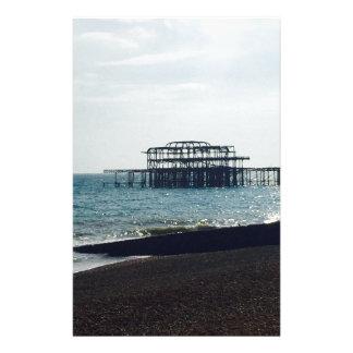 Ein heißer Sommer-Tag - Brightonwestpier Personalisiertes Druckpapier