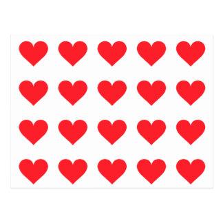 Ein Herz der Liebe und der Zuneigung Postkarte