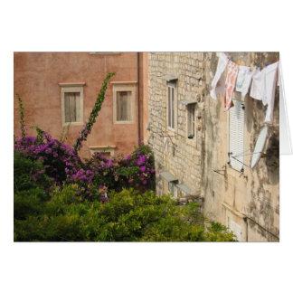 Ein Hinterhof in Dubrovnik Karte